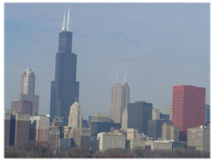 Der Sears Tower in Chicao